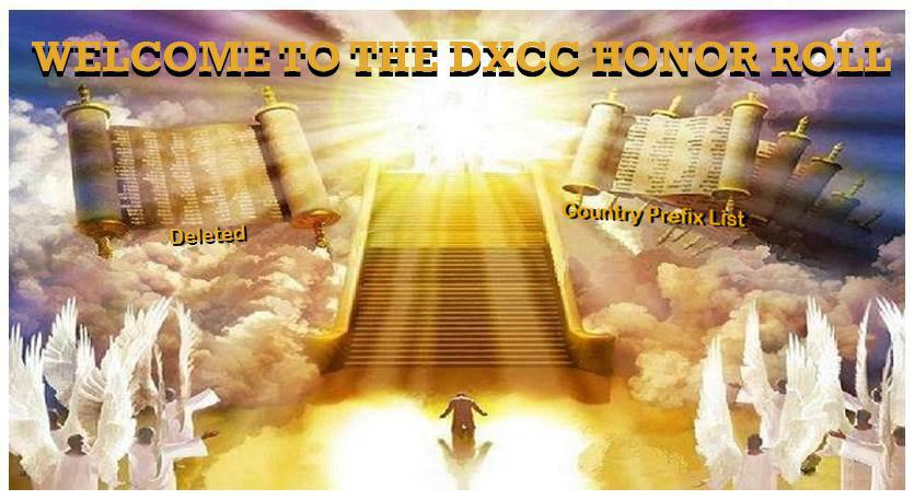 Welcome to the DXCC Honor Roll
